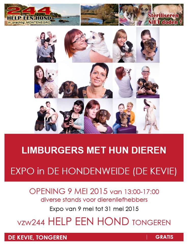 Open-air exhibition 'Limburgers met hun dieren', Tongeren, Belgium