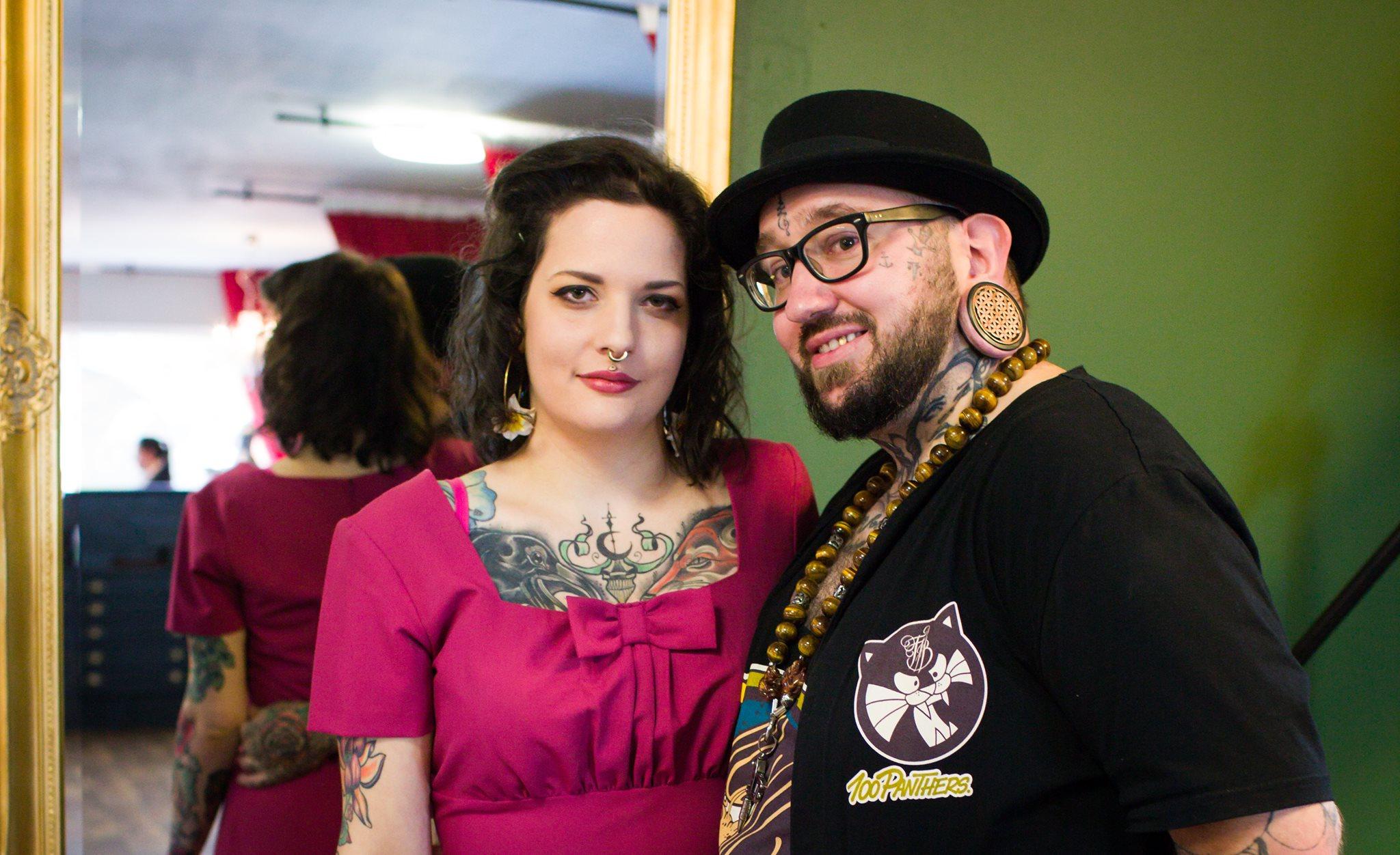 Art On Skin By Belgian Tattoo Duo: Sarah & Jeroen Electrum