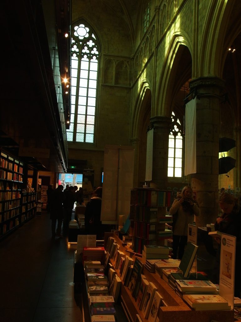 Bookshop in a Dominicanen Church, Maastricht/Courtesy Marina Kazakova