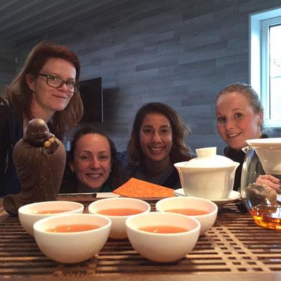 Tea Workshops by Kelly Meeus