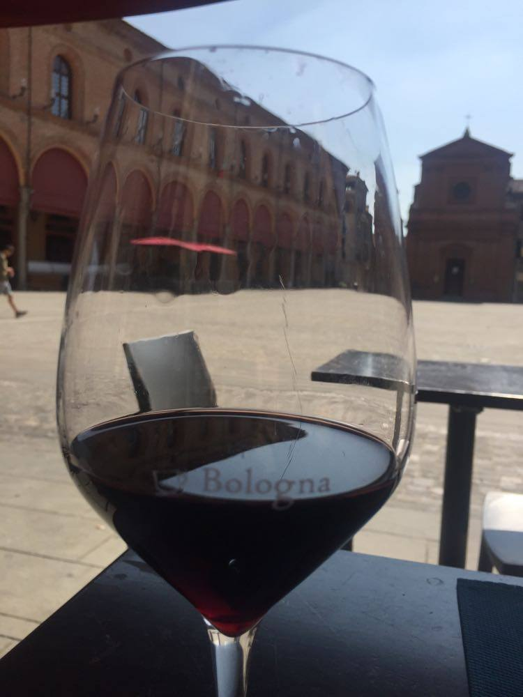 """Poem """"Lunch in Bologna"""", Modern Literature (India)"""