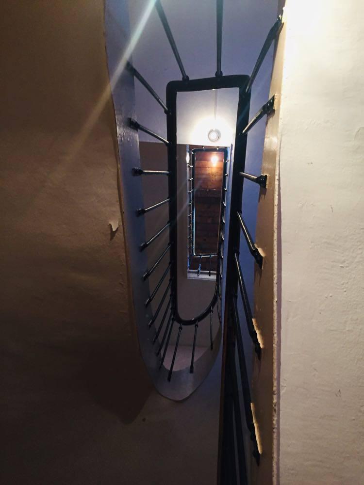 We'd slip quietly upstairs