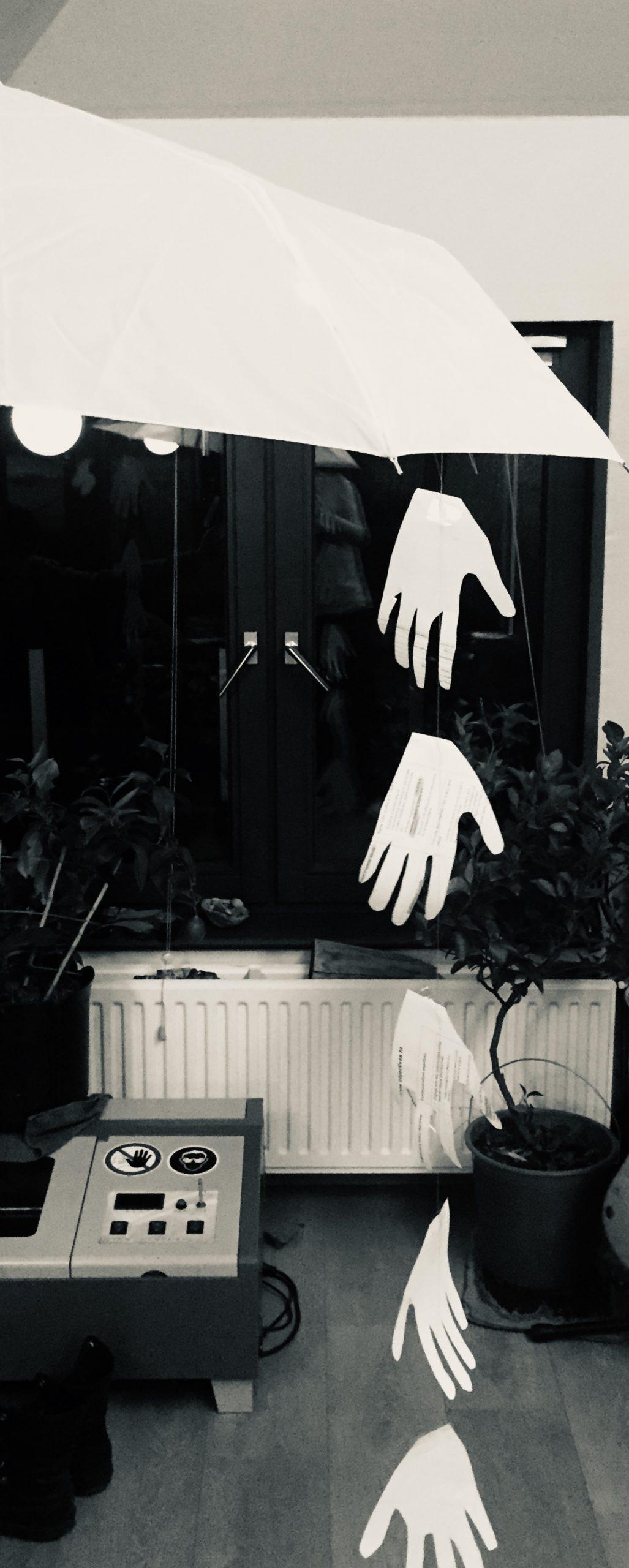 "Poem ""I Let My Hands Rain"", Modern Literature (India)"
