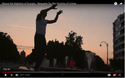 "Film-Poem ""Above the Babylon of Europe"": Expressing the rhythm of the poem in film"